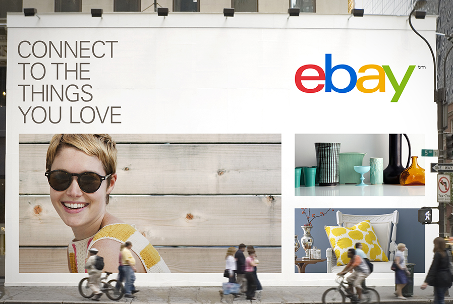 Another Picture of the New eBay Logo